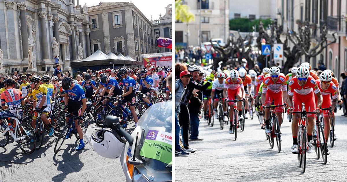 Prima Tappa Giro di Sicilia - Catania milazzo