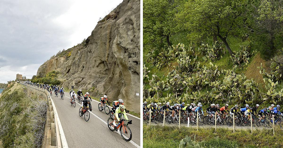 Seconda tappa Giro di Sicilia Open Fiber
