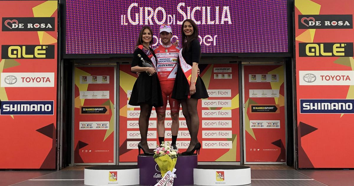 Vincitore della seconda tappa, Giro di Sicilia Open Fiber - Manuel Belletti