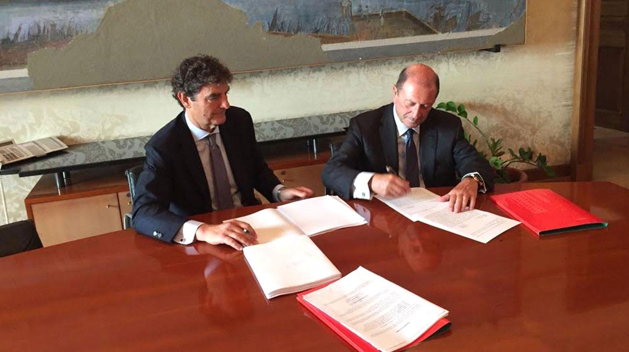 Aree bianche: firmato contratto di concessione con Infratel per la prima gara
