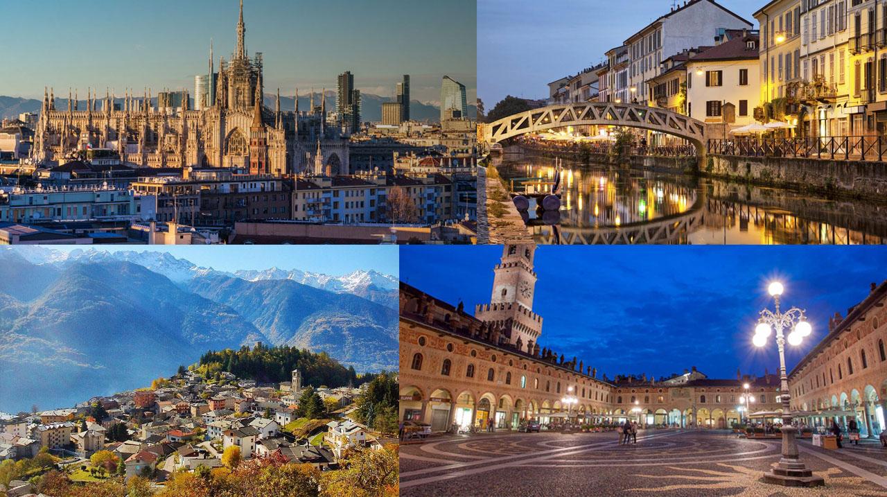 """La """"grande Milano"""": da Sondrio a Pavia, i nuovi comuni lombardi pronti per la fibra Open Fiber"""