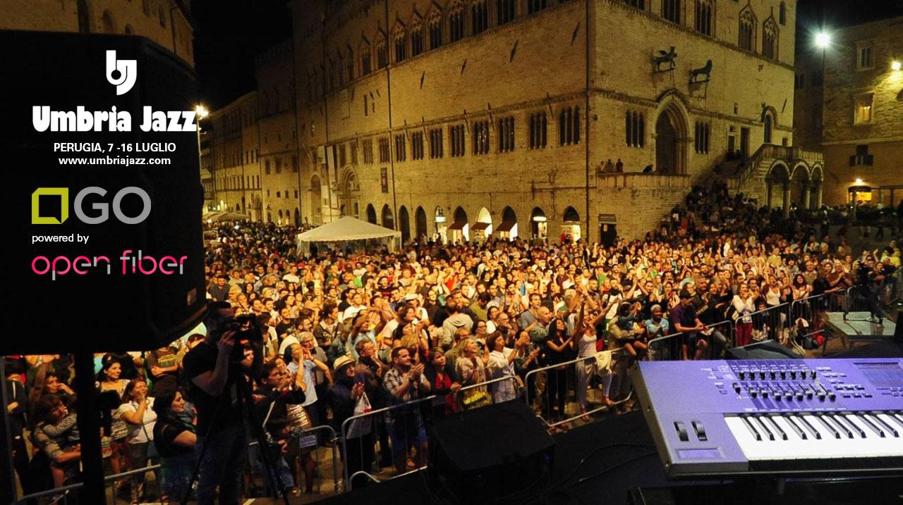 Open Fiber è sponsor dell'Umbria Jazz 2017