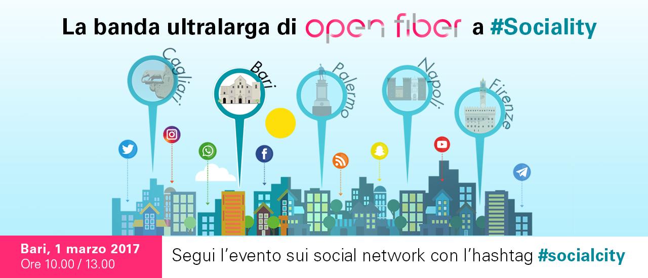 Open Fiber - Bari Social city