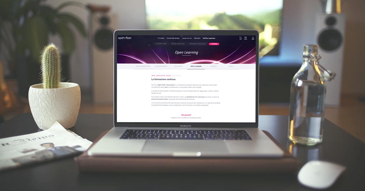 Open Learning - formazione online gratuita specializzata