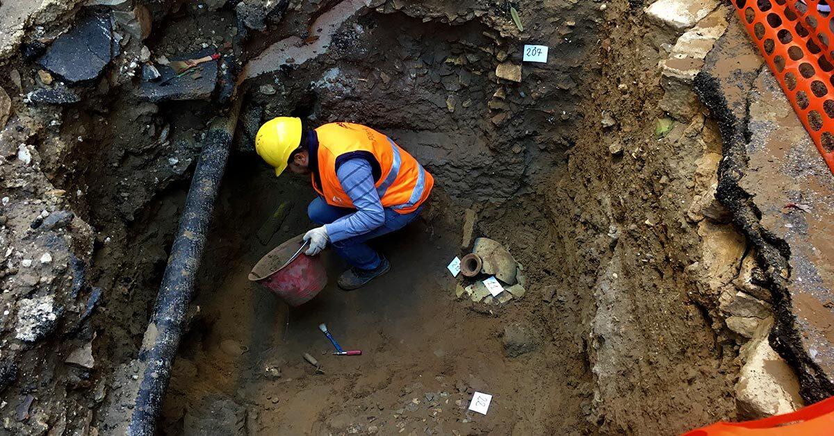 Gela: scoperte archeologiche durante la posa della rete FTTH